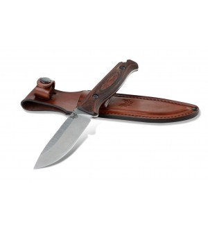 Benchmade 15002 Saddle Mountain Skinner S30V Blade Steel, Wood scales