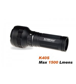 Acebeam K40S, 1500lm, 1030m throw, XP-L HI (Neutral White)