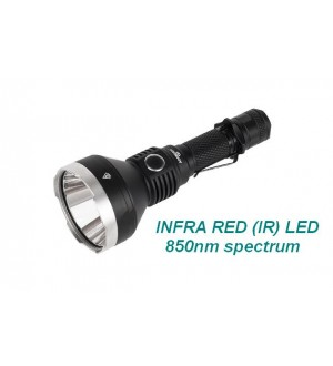 Acebeam T27 LED Torch, Infra Red (IR) 850nm LED, works with Night Vision gear, Excellent distance