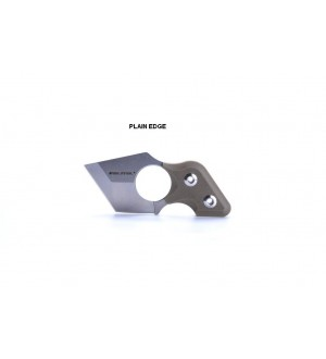 Real Steel Black Cat Coyote - Part Serrated edge only