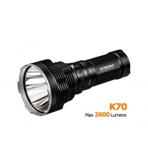 Acebeam K70 CREE XHP35 HI LED, 1300 Meters, 2600 Lm. Throw King