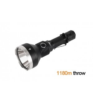 Acebeam T27 LED Torch, 2500 lumens, 1180 metres throw, compact size, Choice of Neutral or Cool White